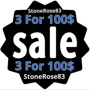 Other - 🔷3 For 100$ SALE 🔷